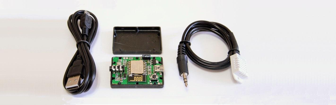 Wi-Fi метеомодуль ESPMeteoSmall